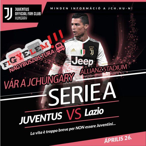 Juventus - Lazio | Nagybuszos túra