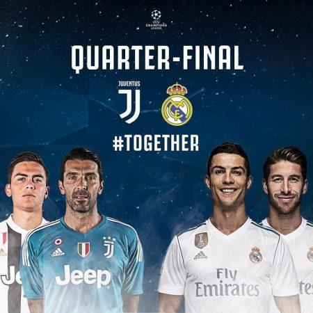 Juventus - Real Madrid I április 3.