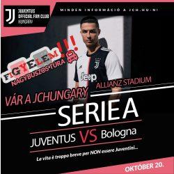 Juventus - Bologna nagybuszos túra
