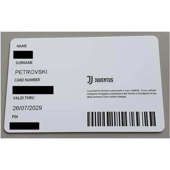 Juventus Card igénylése