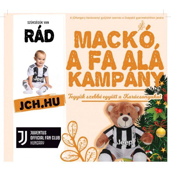 Mackó a fal alá – Juventus szurkolók a gyerekekért